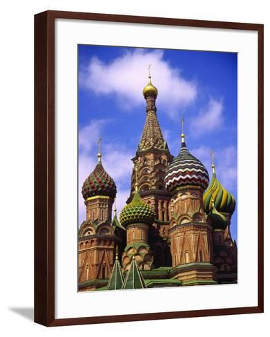 St. Basil's Cathedral, Moscow, Russia-Doug Page-Framed Art Print