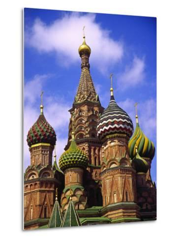 St. Basil's Cathedral, Moscow, Russia-Doug Page-Metal Print