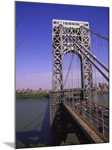 George Washington Bridge, NY-Barry Winiker-Mounted Photographic Print