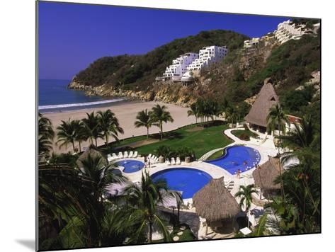 Punta Diamante Resort, Acapulco, Mexico-Walter Bibikow-Mounted Photographic Print