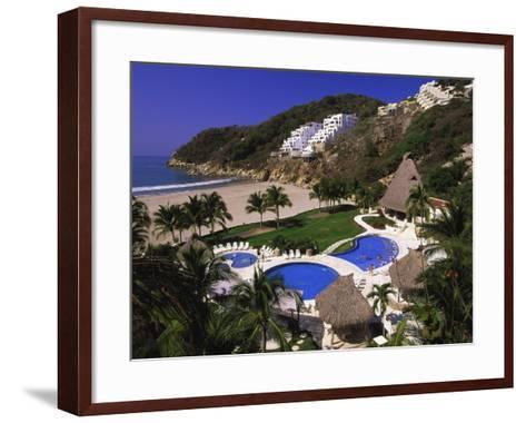 Punta Diamante Resort, Acapulco, Mexico-Walter Bibikow-Framed Art Print