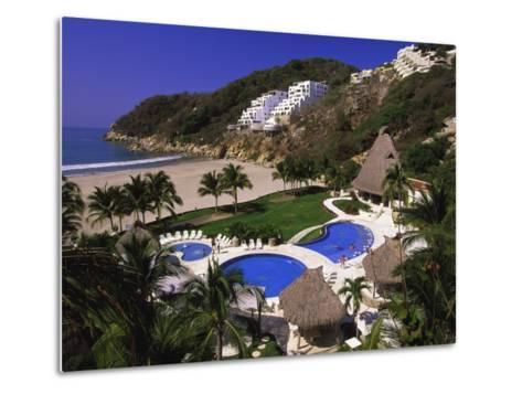 Punta Diamante Resort, Acapulco, Mexico-Walter Bibikow-Metal Print