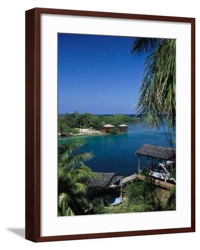 Anthony's Key Resort, Roatan, Honduras-Timothy O'Keefe-Framed Art Print