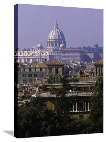 Rome, Italy-Angelo Cavalli-Stretched Canvas Print