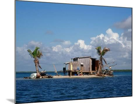 One Man Island off Placencia, Belize-Yvette Cardozo-Mounted Photographic Print
