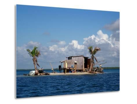 One Man Island off Placencia, Belize-Yvette Cardozo-Metal Print