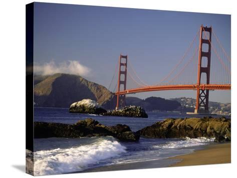 Golden Gate Bridge, CA-Lynn Eodice-Stretched Canvas Print