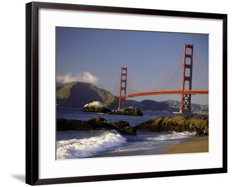 Golden Gate Bridge, CA-Lynn Eodice-Framed Art Print
