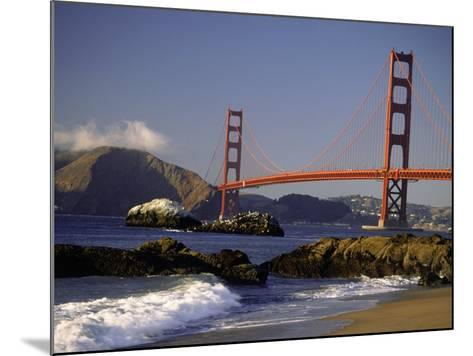 Golden Gate Bridge, CA-Lynn Eodice-Mounted Photographic Print