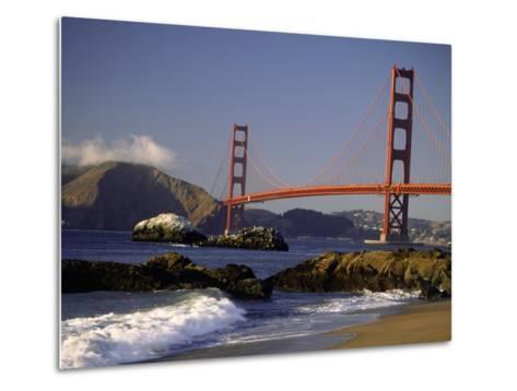 Golden Gate Bridge, CA-Lynn Eodice-Metal Print