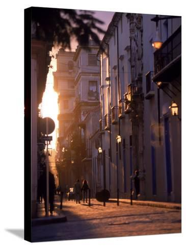 The Streets of Old Havana, Cuba-Dan Gair-Stretched Canvas Print