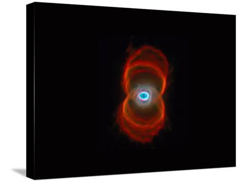 Hourglass Nebula-Arnie Rosner-Stretched Canvas Print