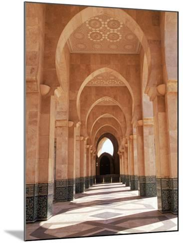 Hassan II Mosque, Casablanca, Morocco-Michele Burgess-Mounted Photographic Print