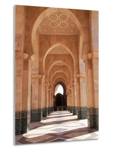 Hassan II Mosque, Casablanca, Morocco-Michele Burgess-Metal Print
