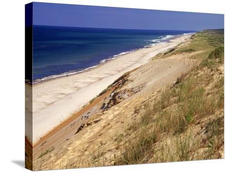 Beach, Cape Cod, MA-Jeff Greenberg-Stretched Canvas Print