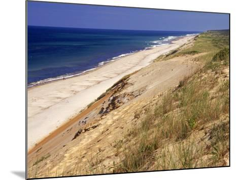 Beach, Cape Cod, MA-Jeff Greenberg-Mounted Photographic Print