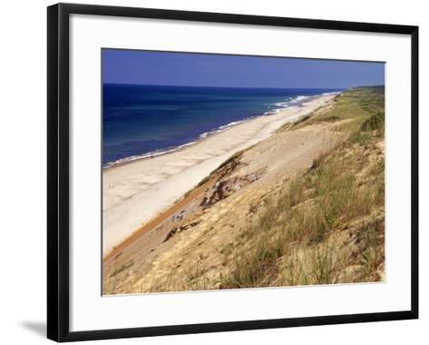 Beach, Cape Cod, MA-Jeff Greenberg-Framed Art Print