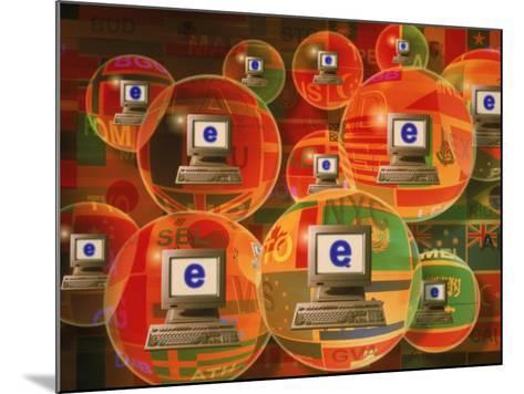 Global E-Business Networking-Carol & Mike Werner-Mounted Photographic Print