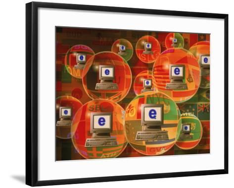Global E-Business Networking-Carol & Mike Werner-Framed Art Print