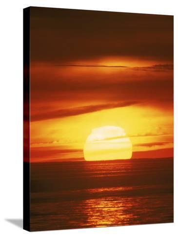Sunset, Cape Cod, MA-John Greim-Stretched Canvas Print