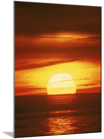 Sunset, Cape Cod, MA-John Greim-Mounted Photographic Print