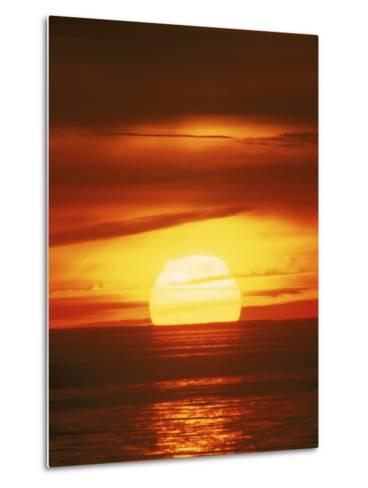 Sunset, Cape Cod, MA-John Greim-Metal Print