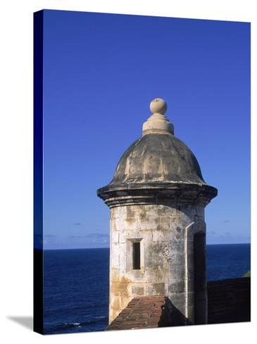 Fort San Cristobal, Old San Juan, Puerto Rico-Timothy O'Keefe-Stretched Canvas Print