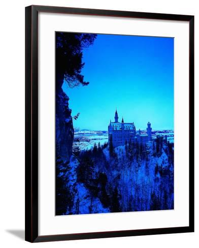 Neuschwanstein Castle, Bavaria, Germany-Walter Bibikow-Framed Art Print