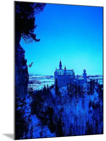 Neuschwanstein Castle, Bavaria, Germany-Walter Bibikow-Mounted Photographic Print