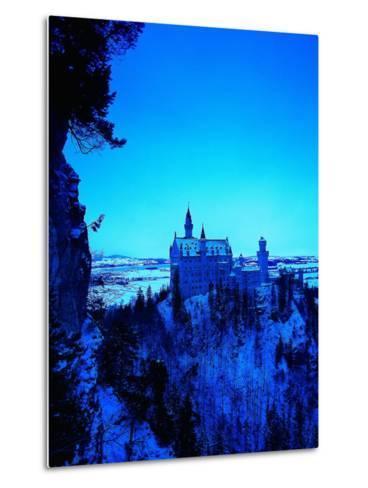Neuschwanstein Castle, Bavaria, Germany-Walter Bibikow-Metal Print