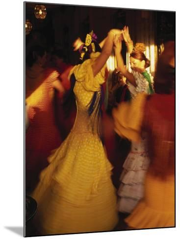 Flamenco Dancers, Spain-Peter Adams-Mounted Photographic Print