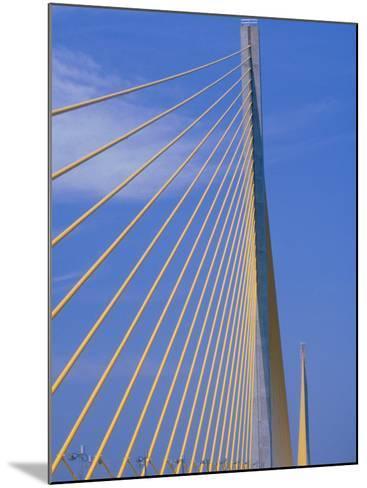 Sunshine Skyway Bridge, FL-Rick Poley-Mounted Photographic Print