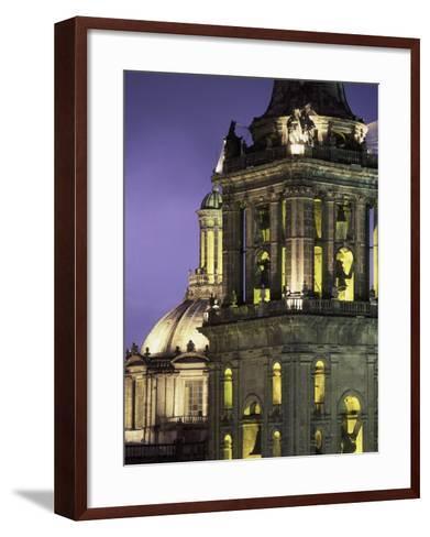 Cathedral Metropolitana, Mexico City, Mexico-Walter Bibikow-Framed Art Print