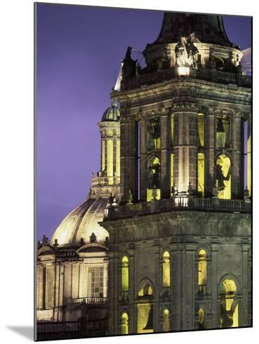 Cathedral Metropolitana, Mexico City, Mexico-Walter Bibikow-Mounted Photographic Print