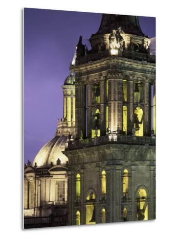 Cathedral Metropolitana, Mexico City, Mexico-Walter Bibikow-Metal Print