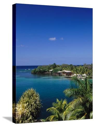 Anthonys Key Resort, Roatan, Honduras-Timothy O'Keefe-Stretched Canvas Print