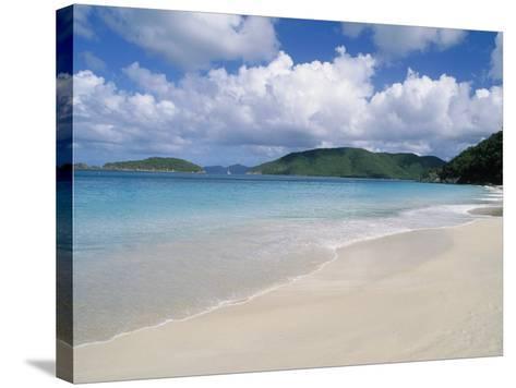 Cinnamon Beach, Virgin Islands National Park, St. John-Jim Schwabel-Stretched Canvas Print