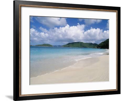 Cinnamon Beach, Virgin Islands National Park, St. John-Jim Schwabel-Framed Art Print