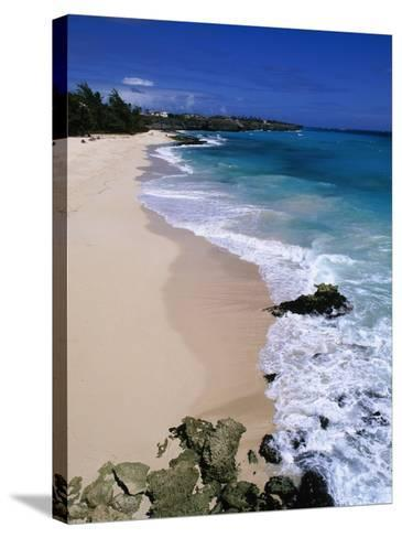 Beach at Sam Lords Castle, East Coast-Angelo Cavalli-Stretched Canvas Print