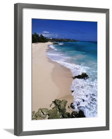 Beach at Sam Lords Castle, East Coast-Angelo Cavalli-Framed Art Print