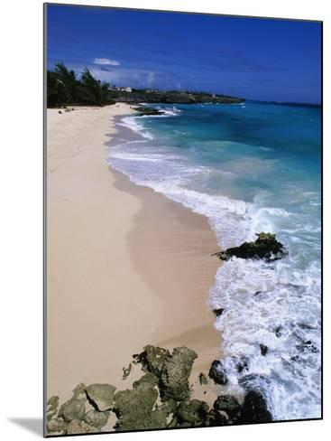 Beach at Sam Lords Castle, East Coast-Angelo Cavalli-Mounted Photographic Print