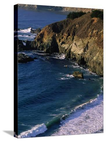 Big Sur, California-Mitch Diamond-Stretched Canvas Print