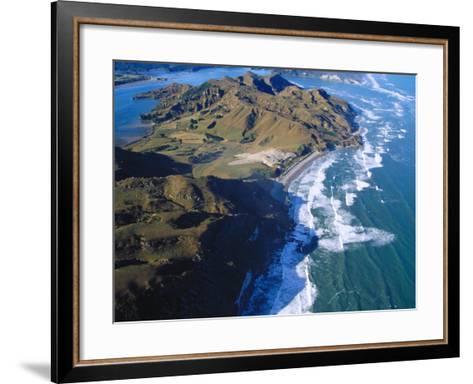 Whanganui Inlet, South Island, New Zealand-Bruce Clarke-Framed Art Print