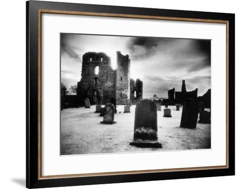 Lindisfarne Priory, Holy Island, Northumberland, England-Simon Marsden-Framed Art Print