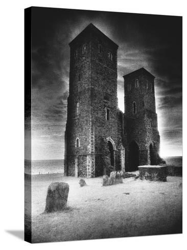 Reculver Towers and Roman Fort, Kent, England-Simon Marsden-Stretched Canvas Print
