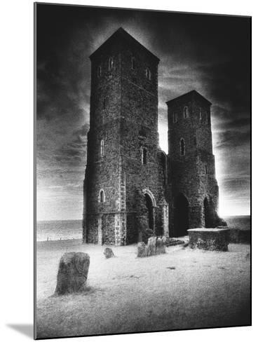 Reculver Towers and Roman Fort, Kent, England-Simon Marsden-Mounted Giclee Print
