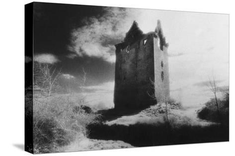 Danganbrack Tower, County Clare, Ireland-Simon Marsden-Stretched Canvas Print