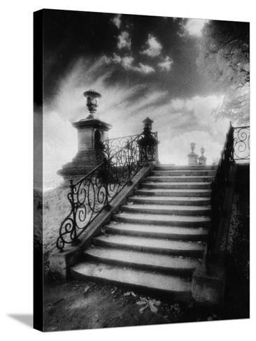 Steps, Chateau Vieux, Saint-Germain-En-Laye, Paris-Simon Marsden-Stretched Canvas Print