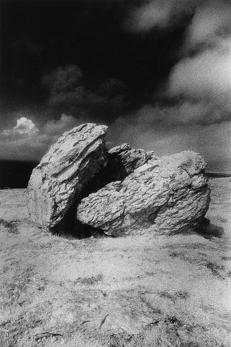 Rocks, the Burren, County Clare, Ireland-Simon Marsden-Stretched Canvas Print
