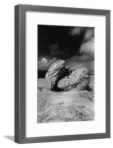 Rocks, the Burren, County Clare, Ireland-Simon Marsden-Framed Art Print
